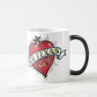 """801 Texas, We Love You!"" Morphing Mug"