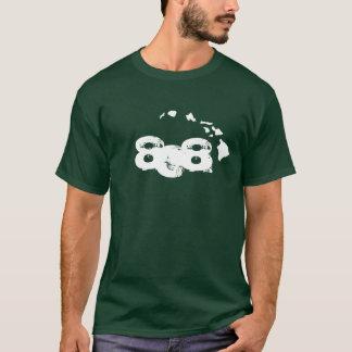 808 Hawaiian Islands - Green T-Shirt