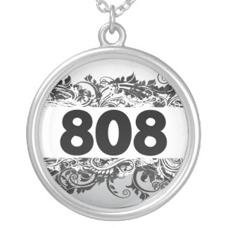 808 SILVER PLATED NECKLACE