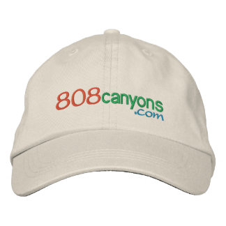 808canyons.com embroidered hat
