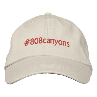 #808canyons embroidered hat