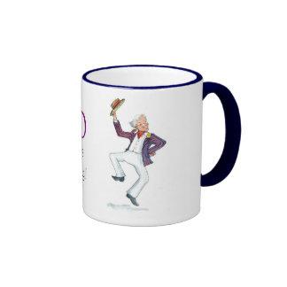 """""""80 ans de jeune"""" tasse de café"""