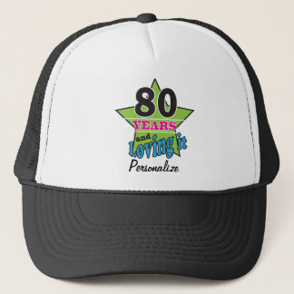 80 ans et l'aimer quatre-vingtième nom de casquette
