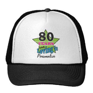 80 ans et l'aimer quatre-vingtième nom de casquettes