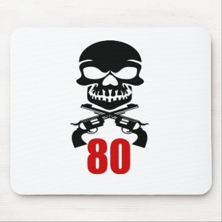 80 Birthday Designs Mouse Pad