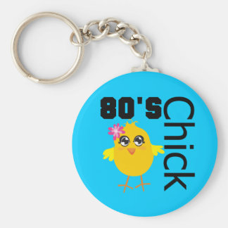 80 s Chick Key Chains