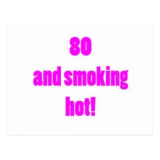 80 Smoking Hot Postcard