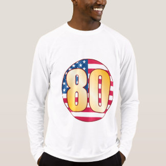 80 USA Gold T-Shirt