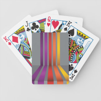 80Colorful Lines_rasterized Bicycle Playing Cards