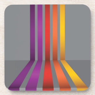 80Colorful Lines_rasterized Coaster