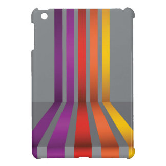 80Colorful Lines_rasterized iPad Mini Cases