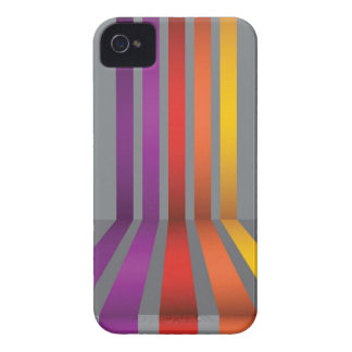 80Colorful Lines_rasterized iPhone 4 Cover