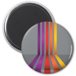80Colorful Lines_rasterized Magnet