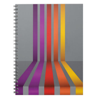 80Colorful Lines_rasterized Notebook