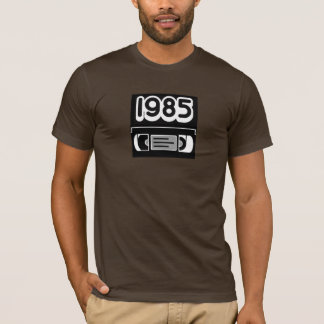 80's 1985 Retro VHS Tape Shirt