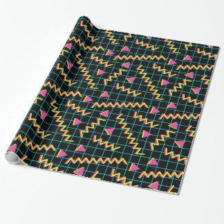 80's/90's Black & Neon Pattern