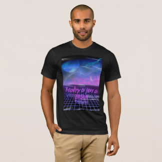 80's Aesthetic reality is just a dream t-shirt