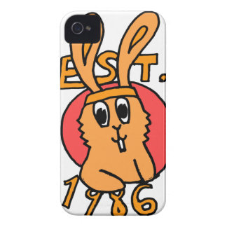 80's Bunny iPhone 4 Case