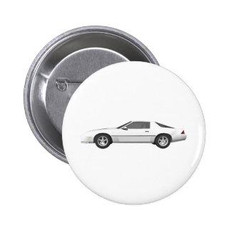 80's Camaro Sports Car: 3D Model: Buttons