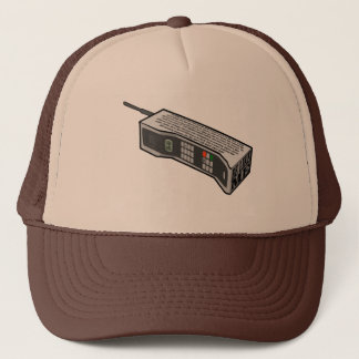 80s Cellphone with Text Trucker Hat