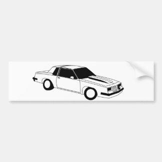 80's Cutlass Oldsmobile Bumper Sticker