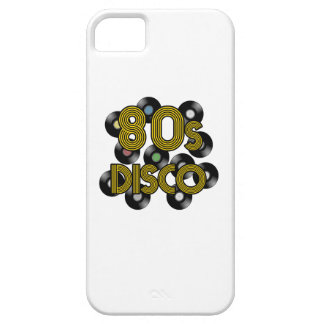 80s disco vinyl records iPhone 5 case