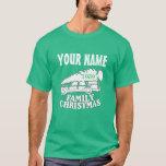 80's Family Christmas Tree T-shirt