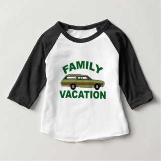 80s Family Vacation Baby T-Shirt