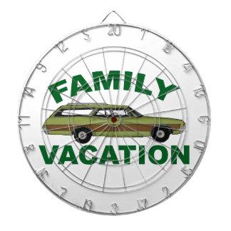 80s Family Vacation Dart Board