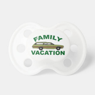80s Family Vacation Pacifier