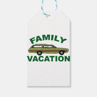 80s Family Vacation Pack Of Gift Tags