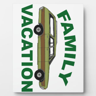 80s Family Vacation Plaque