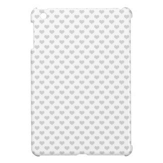 80s flannel gray hearts emo girly grunge pattern cover for the iPad mini