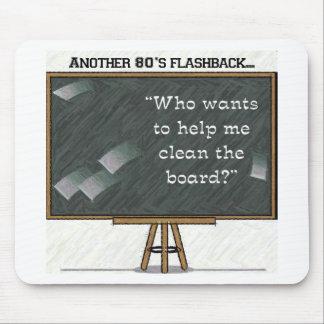 80s Flashback - Chalkboard Mouse Pad