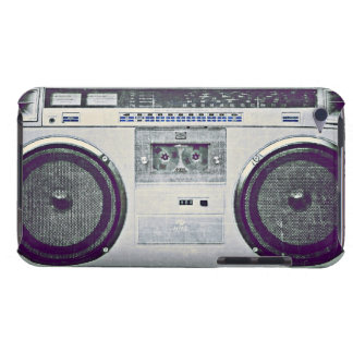 80's ghetto blaster iPod touch Case-Mate case