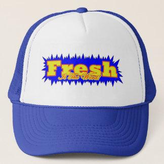 80s hip hop trucker hat