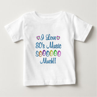 80s Love So Much Tshirts