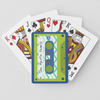 80's Mix Cassette Tape Personalized Playing Cards