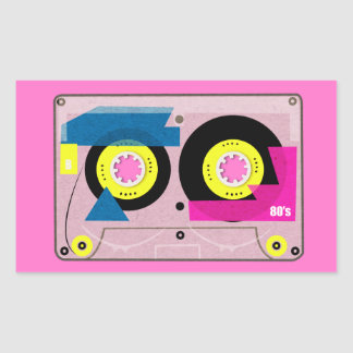80's Mix tape Sticker