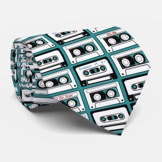 80's Mixed Cassette Tape Personalized Tie