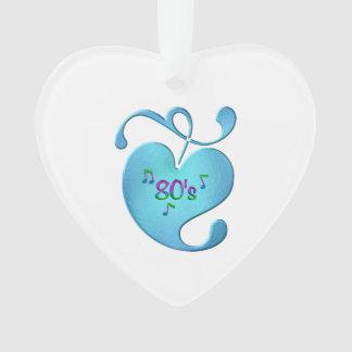 80s Music Love Ornament