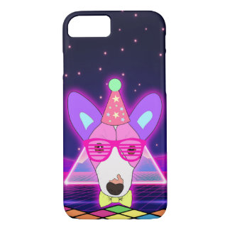 80s Neon Jack Russell Case-Mate iPhone Case