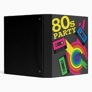 80s party binder