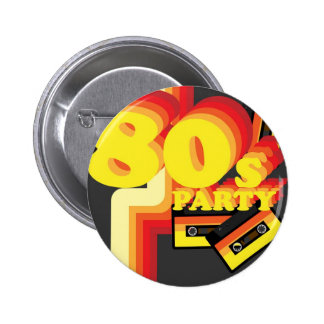 80s Party Pins