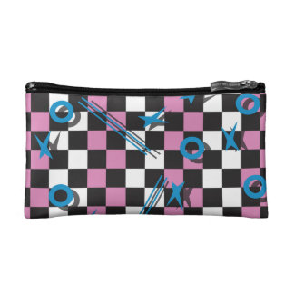 80s Pattern 1 Cosmetic Bag