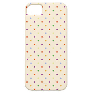 80s petite rainbow girly cute polka dots pattern iPhone 5 case