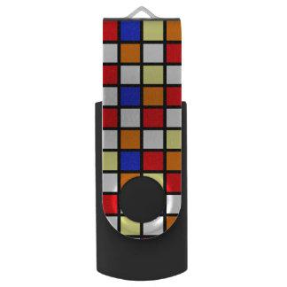 80s Pop Culture Swivel USB 3.0 Flash Drive