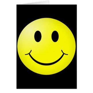 80s Pop Culture Yellow Smiley Emoticon Cards