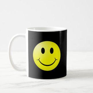 80s Pop Culture Yellow Smiley Emoticon Coffee Mug