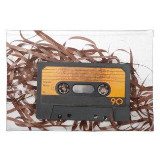 80's Retro Design - Audio Cassette Tape Placemat
